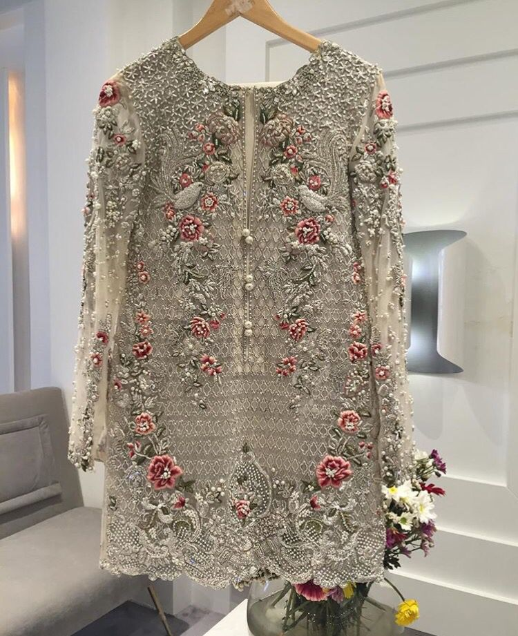 ece1ee9ad8 Pakistani designer outfit. Custom made available at Royal Threads Boutique.  WhatsApp: +919646916105