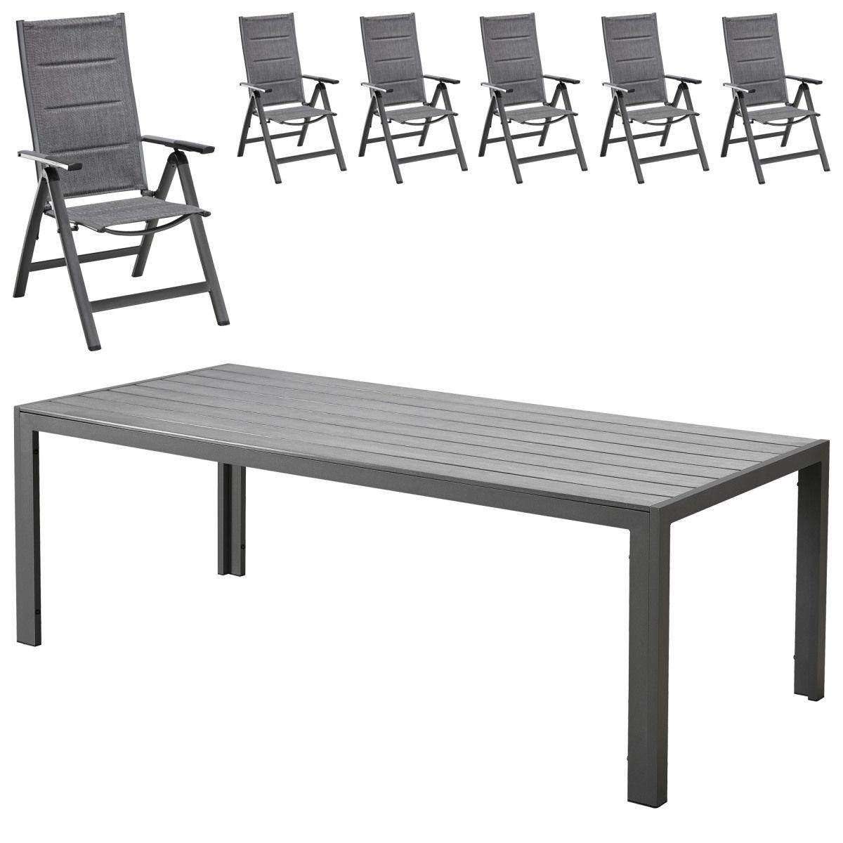 Gartenmöbel-Set Miami (1 Tisch, 6 Gartenstühle) Jetzt bestellen ...