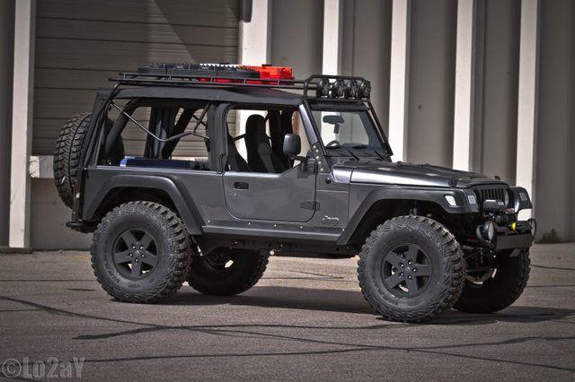 Adventure Ready Jeep Lj Jeep Jeep Truck Black Jeep