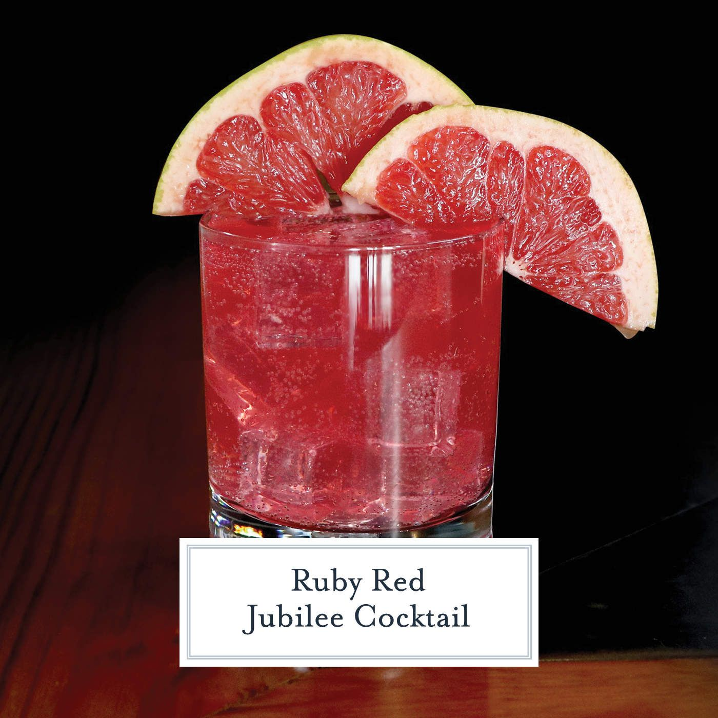 Ruby Red Jubilee Cocktail Is The Perfect Holiday Cocktail Made With Sagamore Spirit Rye Whiske Cocktail Recipes Easy Cinnamon Cocktail Perfect Holiday Cocktail