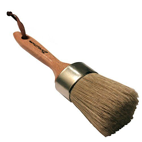 Wood Brushes Wax Brush for Painting with Natural Bristles