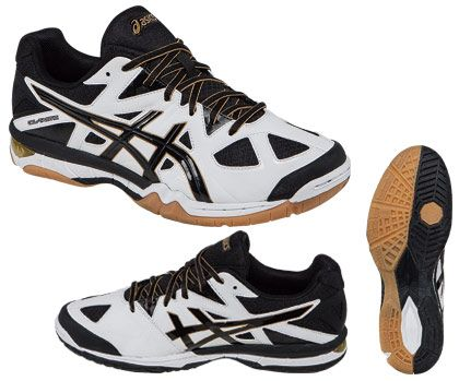 Men S Asics Gel Tactic Shoe White Black Midwest Volleyball Warehouse Shoes Volleyball Shoes Asics Men