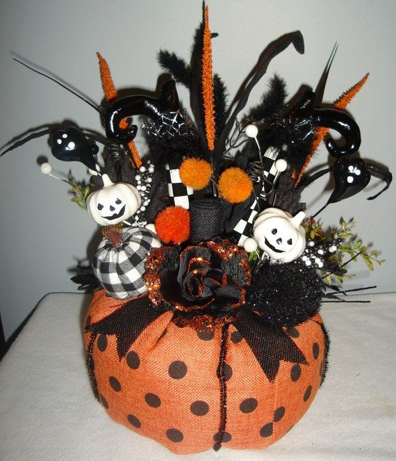 Halloween Centerpiece, Witch Legs Centerpiece, Halloween Decor - halloween centerpiece