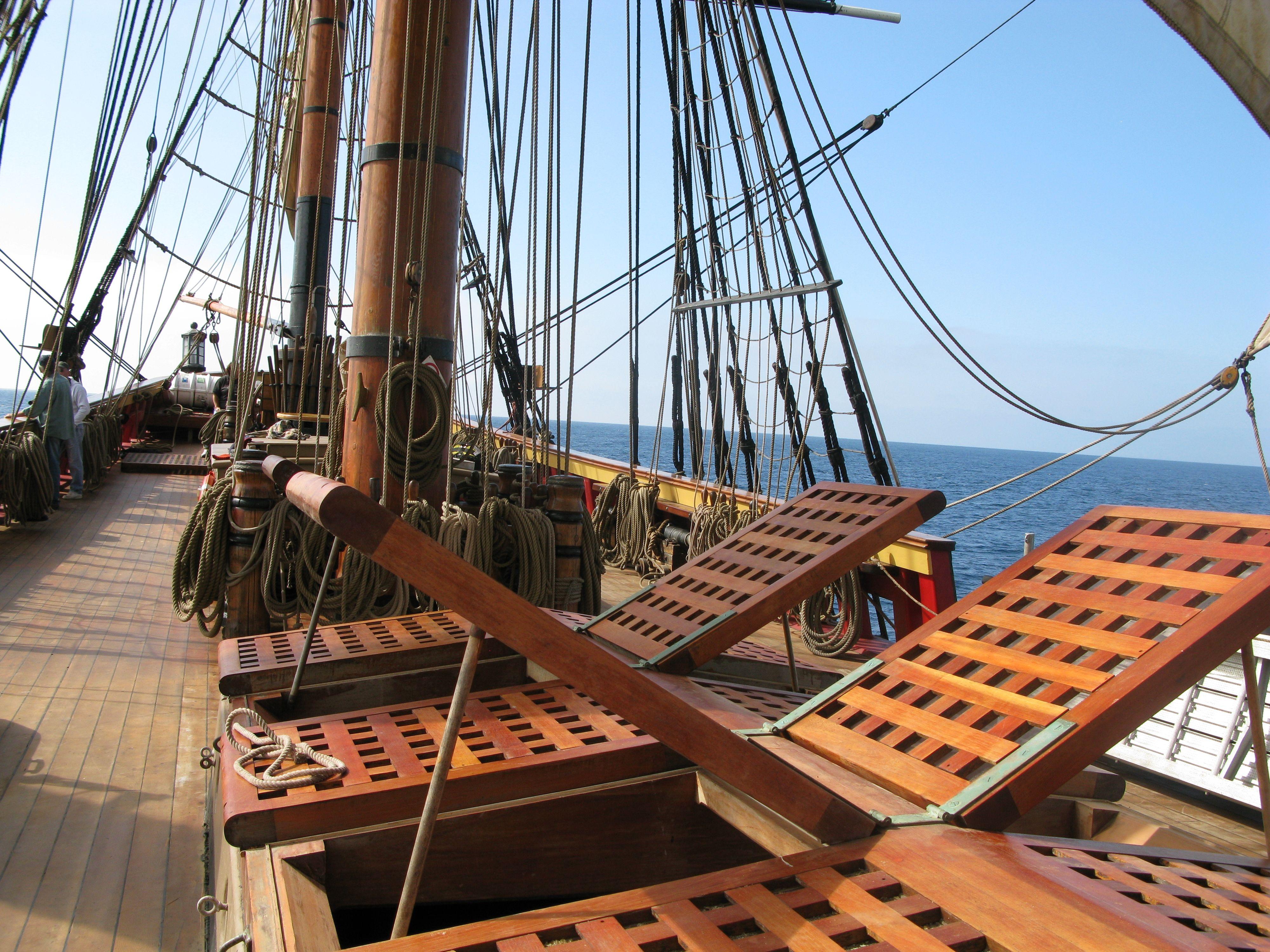 Below Deck Tall Ship Ryanpace S Weblog Sailing Sailing Ships