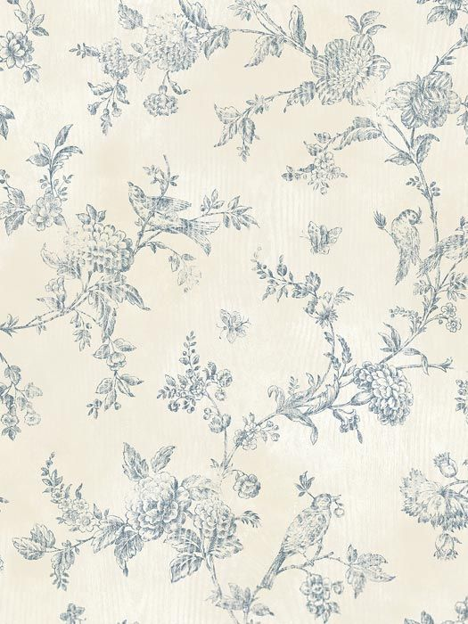 French Country Wallpaper Farmhouse Wallpaper Cottage Wallpaper Brewster Wallpaper