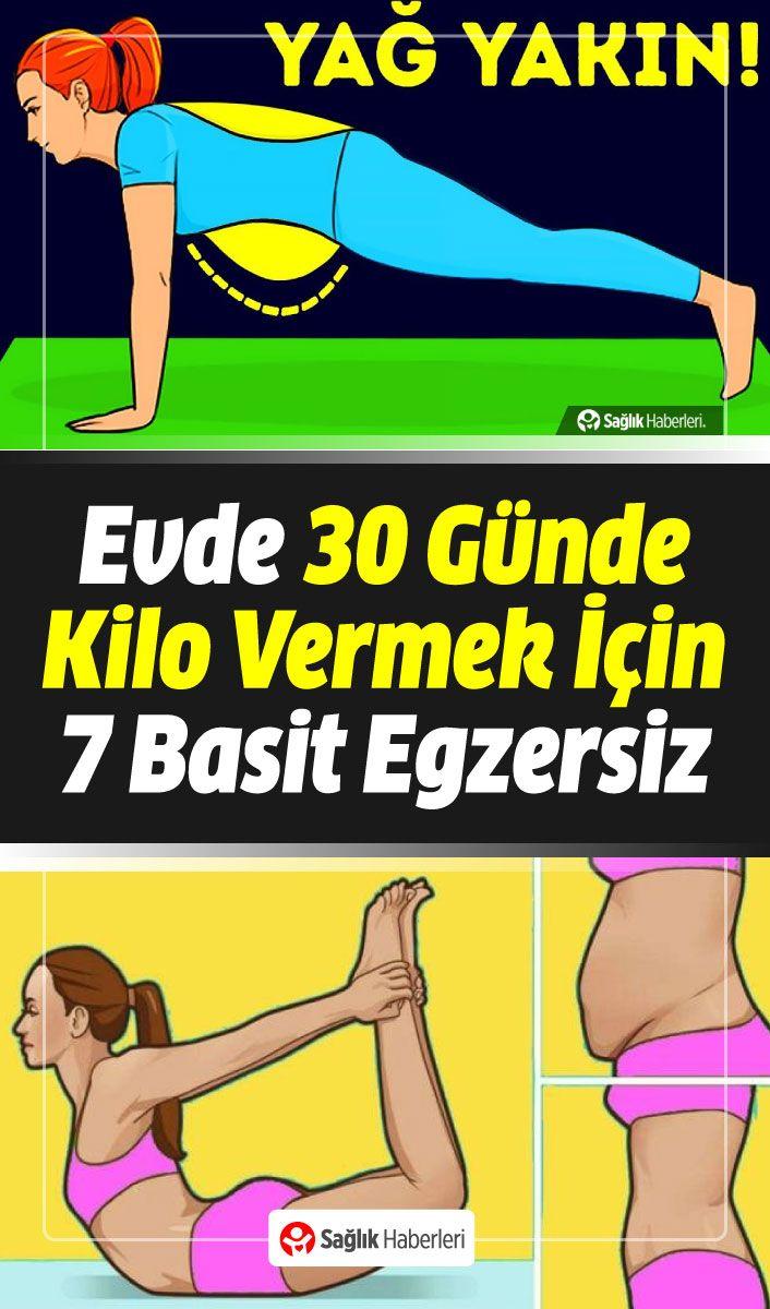 Evde 30 Günde Kilo Vermek İçin 7 Basit Egzersiz