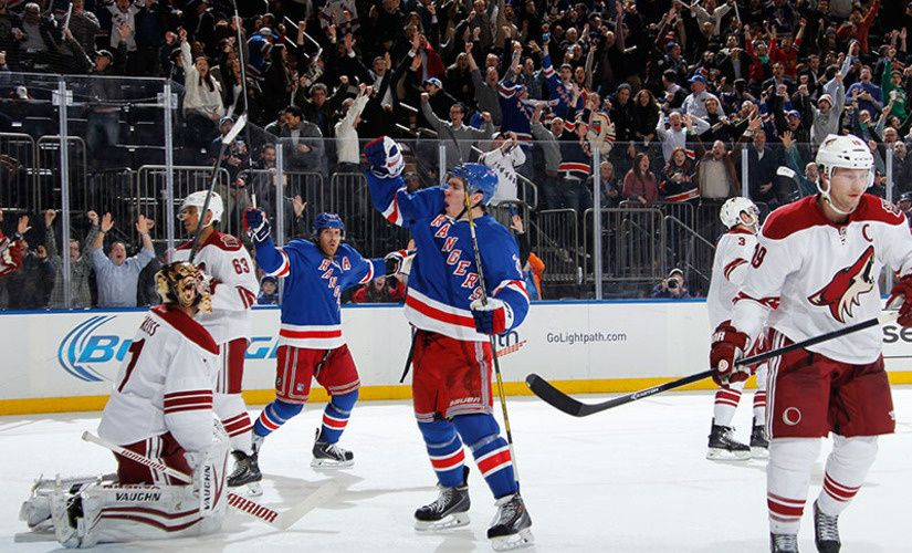 Blueshirts United - Rangers - Coyotes: The Collection