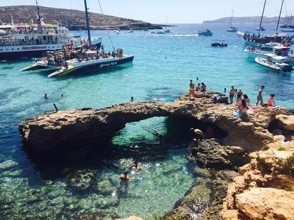 ☀️ Beautiful clear waters in #Malta .   Our Finnish student in #Sliema , Nelli, sent us this wonderful picture of her #SMLmatka .   Share your pictures with us!   #kielimatka #kielikurssi #SMLmatka  #språkresa #kielimatkat #englishcourses #study  #sml #suomi #finland  #student #students #studyabroad #travel  #traveltuesday #nyc