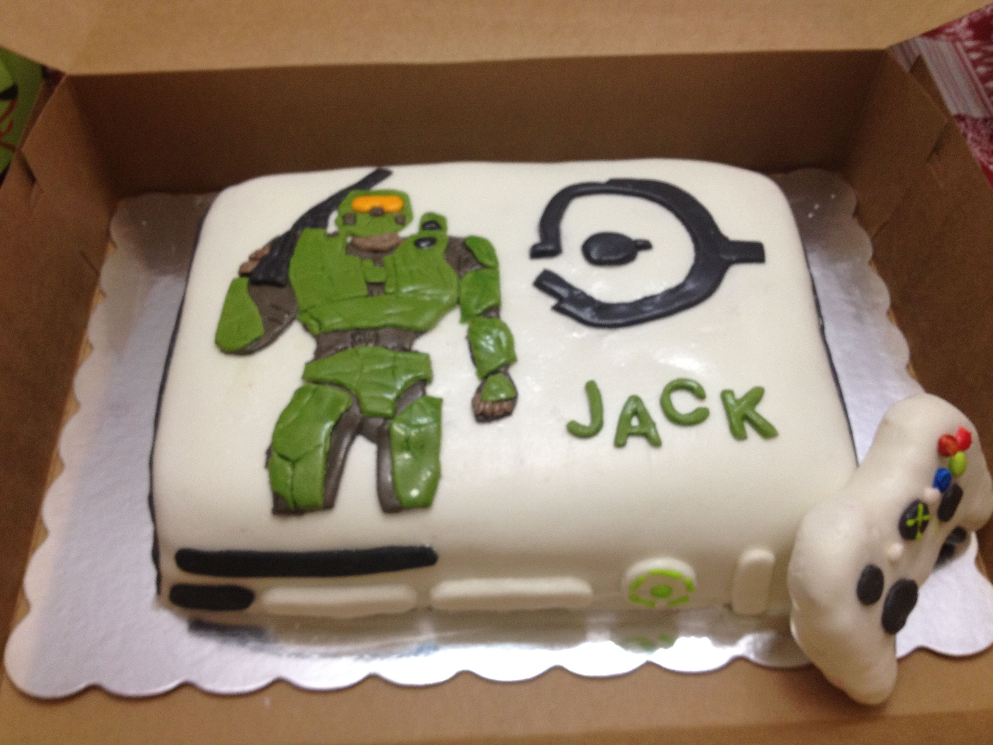 X Box Halo Cake Cakes Ive Made Pinterest Halo cake Cake and