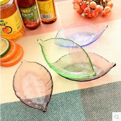 Deja sabor plato de vidrio bandeja de frutas secas(China (Mainland))