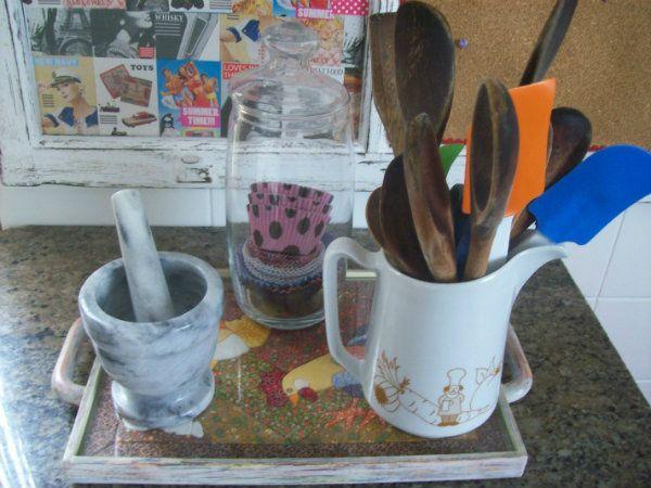Cozinha organizada no O tacho da Pepa