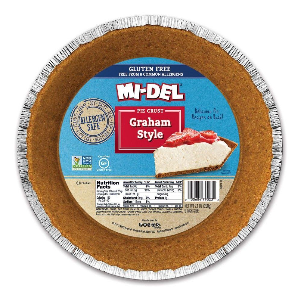 Mi-Del Gluten Free-Peanut Free Graham Style Pie Crust 7 ...