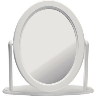 Buy Argos Home Oval Dressing Table Mirror White Mirrors Argos Dressing Table Mirror Mirror Table Dressing Table Mirror White