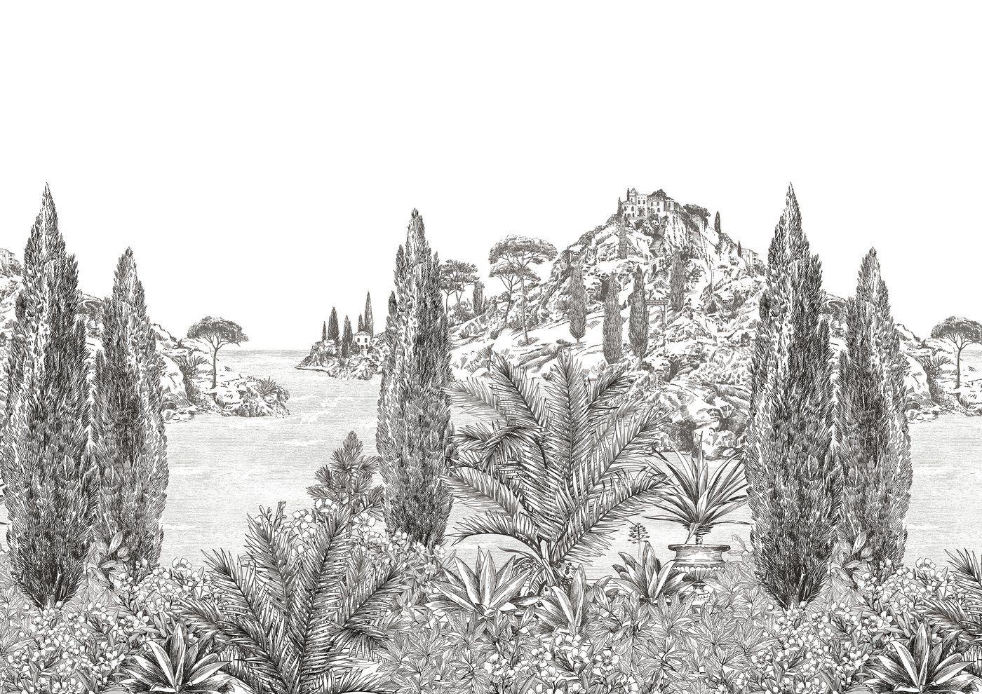 1 ROULEAU DE PAPIER PEINT ANCIEN TAPISSERIE MURALE//VINTAGE ROLL WALLPAPER//N°105