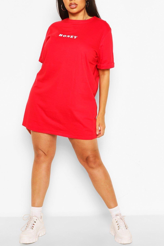 Plus Honey Oversized T Shirt Dress Boohoo Oversized T Shirt Dress Shirt Dress Shirts [ 1500 x 1000 Pixel ]