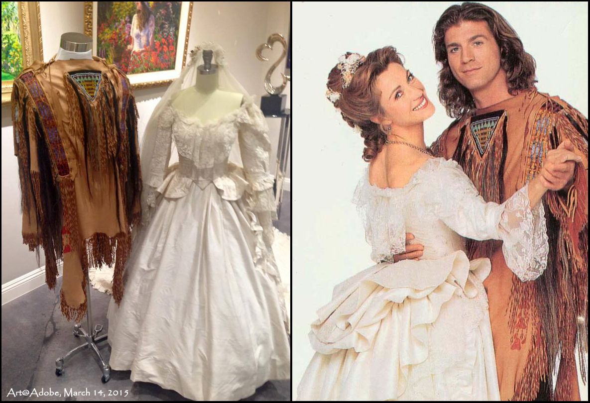 Jane Seymour still has the wedding dress & suit of Dr. Mike and ...