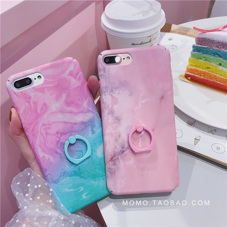 Fashion Concise Granite Marble Stand Holder Hard Case For Iphone 7 7plus 8 8plus Iphone Cases Iphone Accessories Cool Iphone Cases