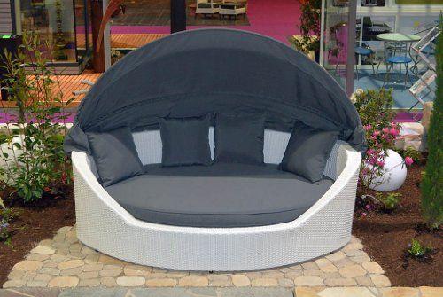 essella polyrattan sonneninsel mauritius in wei sonneninsel balkon pinterest polyrattan. Black Bedroom Furniture Sets. Home Design Ideas