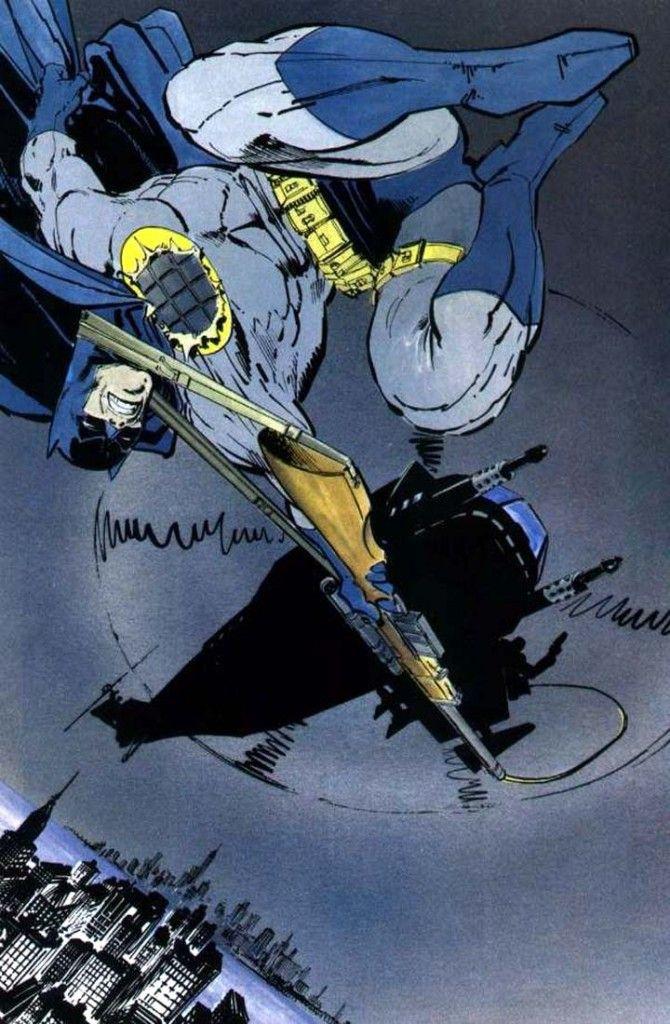 Batman O Cavaleiro Das Trevas De Frank Miller Com Imagens