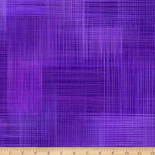 Northcott Dream Weaver Wide Back Grape Expect - Fabric.com