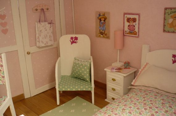 Dollhouse decorated.1:6 for blythe pullip momoko by WearingDreams