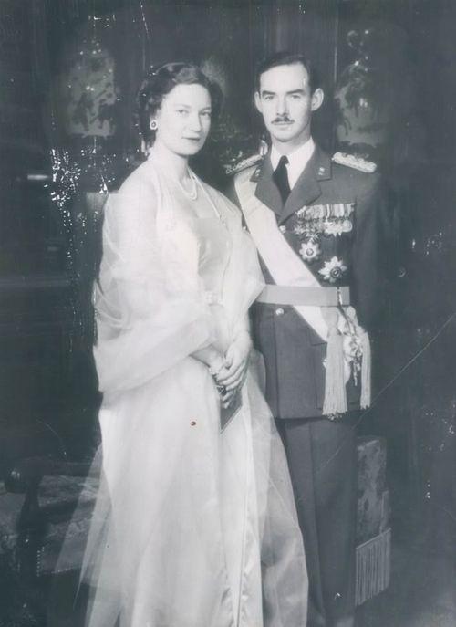Grand Duchess Josephine-Charlotte Grand Duke Jean Luxembourg