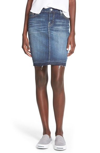 Junior Women's Vigoss Denim Skirt | Denim skirts, Skirts and Nordstrom
