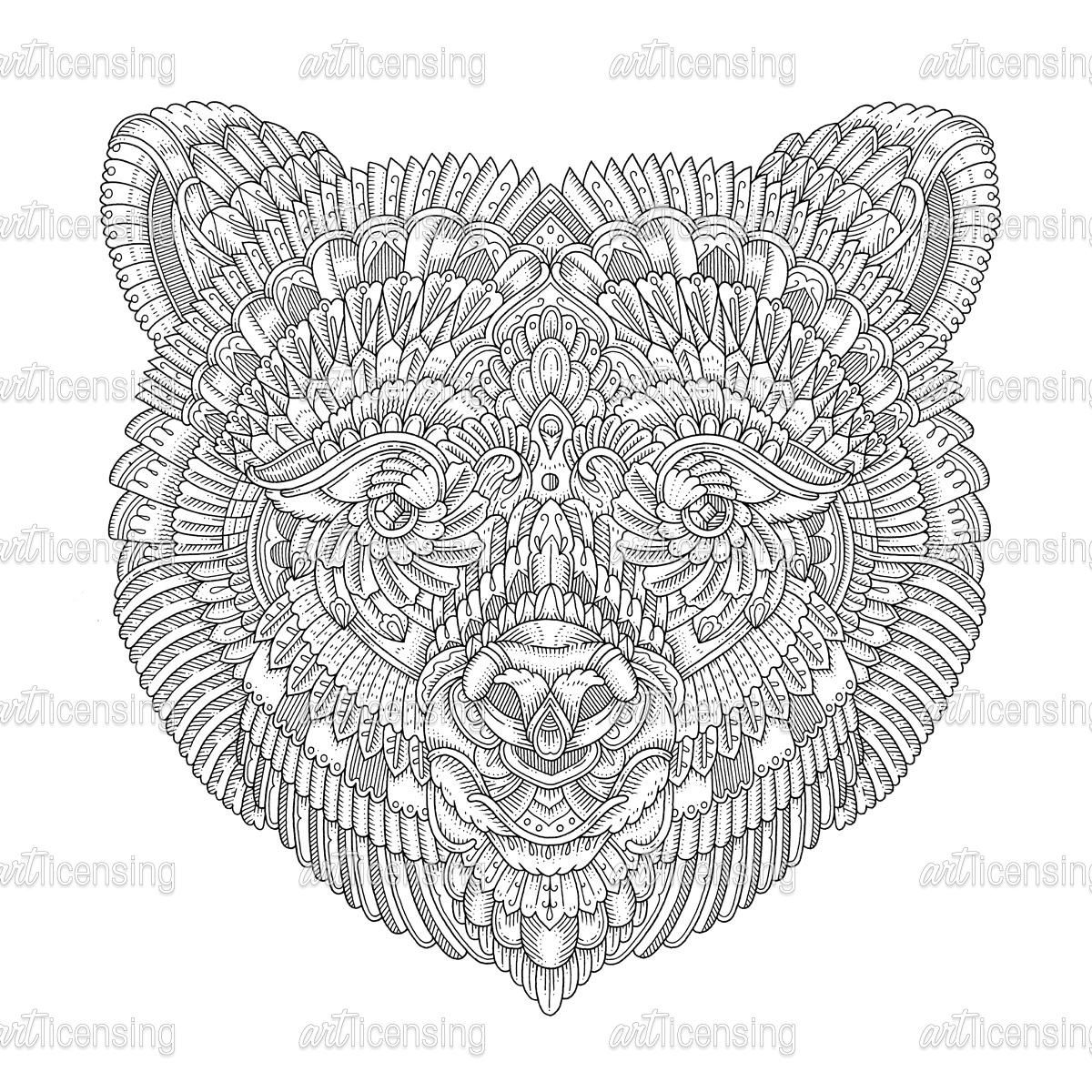 72 Top Coloring Pages Of Spirit Animals Download Free Images