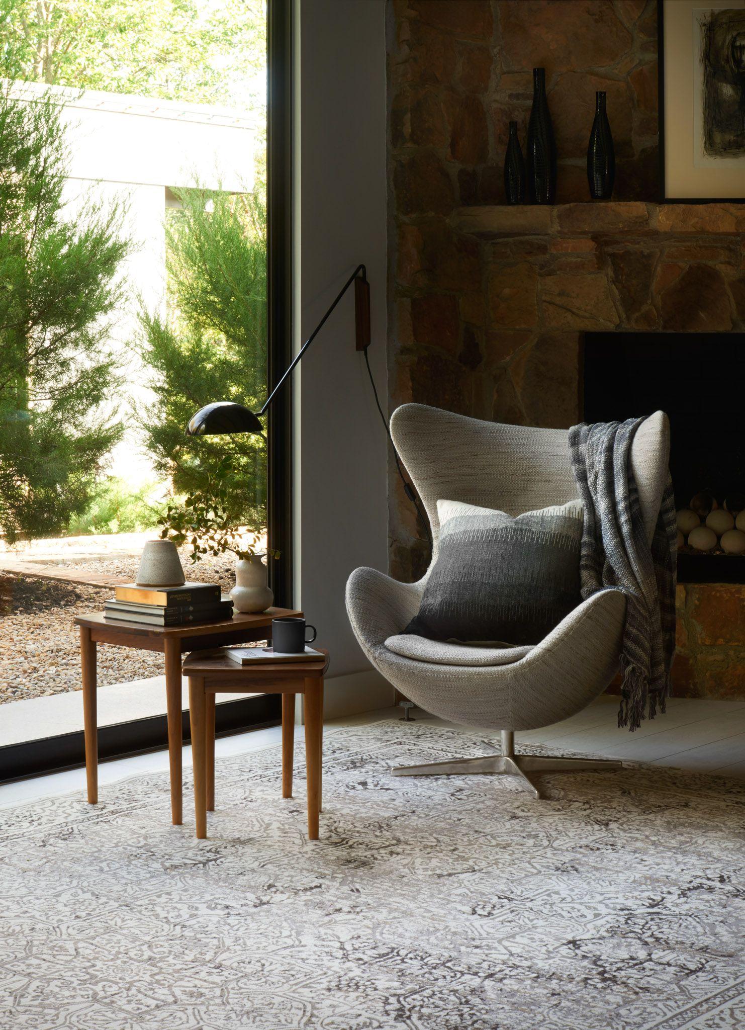 Loloi Kingston KT-06 Ivory /Grey Rug. | Living Room Rug ...