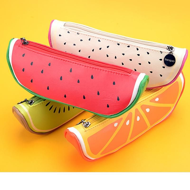 Humorous Fresh Style Creative Cubic Fruit Canvas Coin Purse Key Wallet Storage Organizer Bag Novelty Gift Cheapest Price From Our Site Luggage & Bags