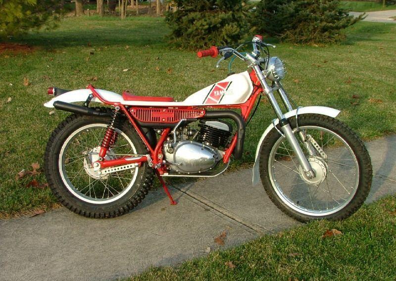 1983 Yamaha TY 250 Trials Bike