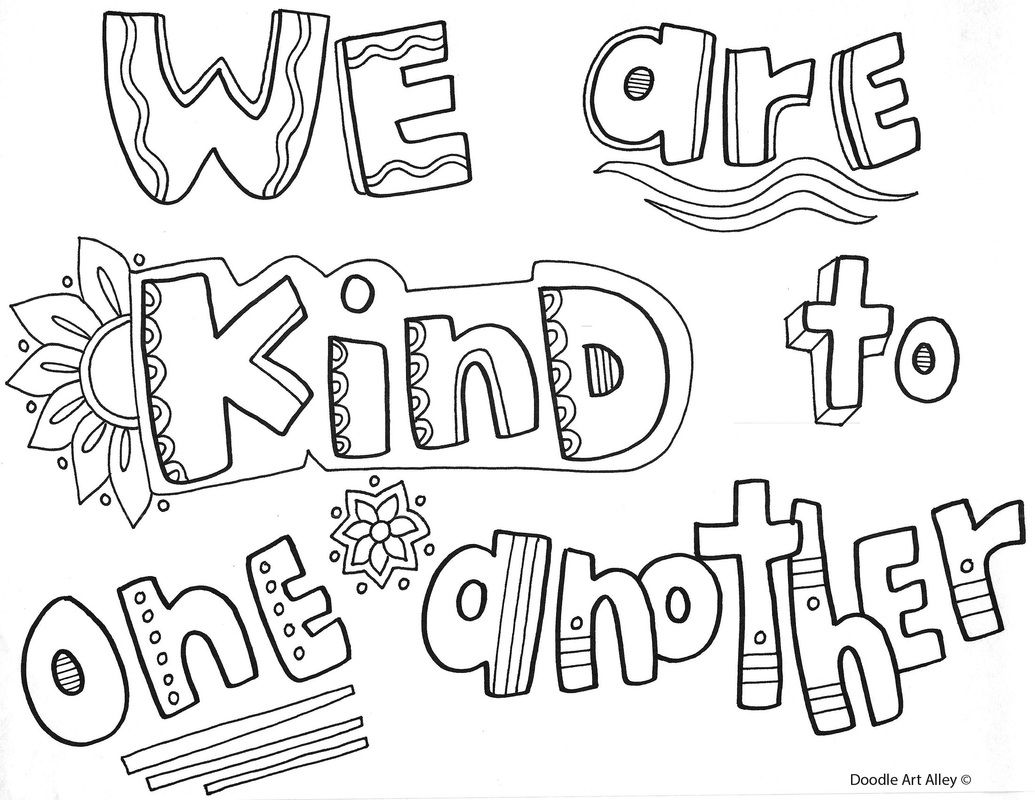 picture  quote coloring pages color quotes bullying