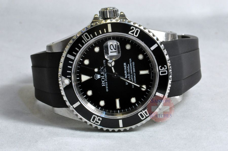 b4f53b739e6 black submariner on rubber strap - Google Search. black submariner on  rubber strap - Google Search Rubber Watches