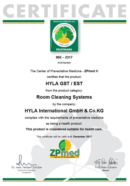 Zertifikate: HYLA International #hylathebest #hylacertification ...