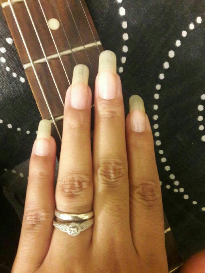 pinterest & nailslong: MistressVamp | Long Natural Nails | Pinterest ...