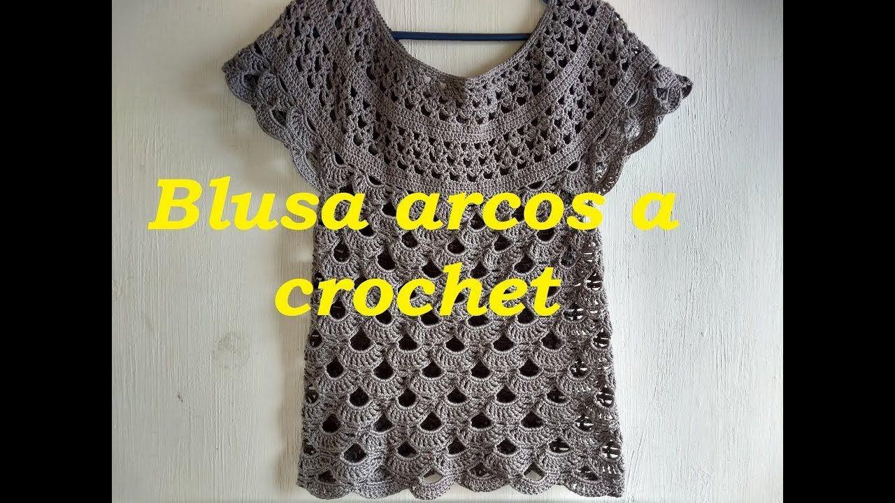 A Para DamaLucruri Blusa Arcos Crochet Femei Crosetate Pentru EIH2YeDW9