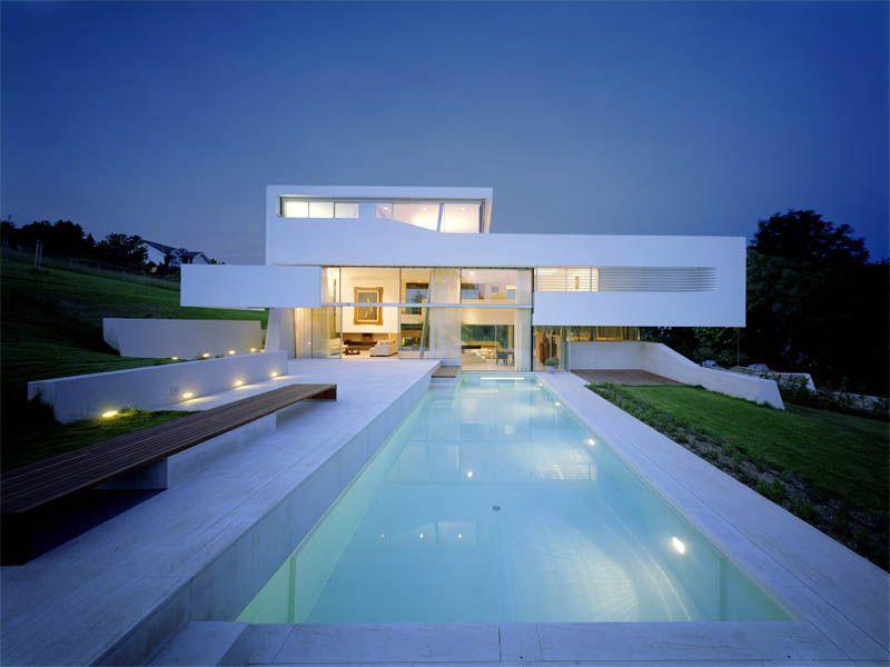 Moderne häuser mit pool in österreich  Residence Kloserneuburg (Österreich) Architektur: project A.01 ...