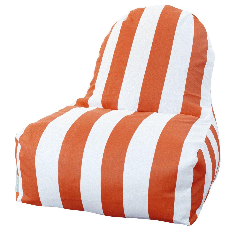 Park Art|My WordPress Blog_Orange Bean Bag Lounge Chair