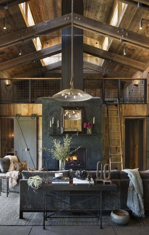 40+ Urban Style Interior Design Ideas | Loft living rooms Room decor and Lofts & 40+ Urban Style Interior Design Ideas | Loft living rooms Room ...