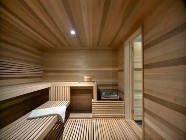 Private Modern Home Sauna Design Ideas | Beautiful Homes Design