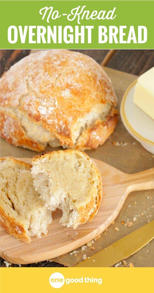 No Knead Overnight Bread Recipe In 2020 Homemade Bread Bread Recipes Homemade Recipes
