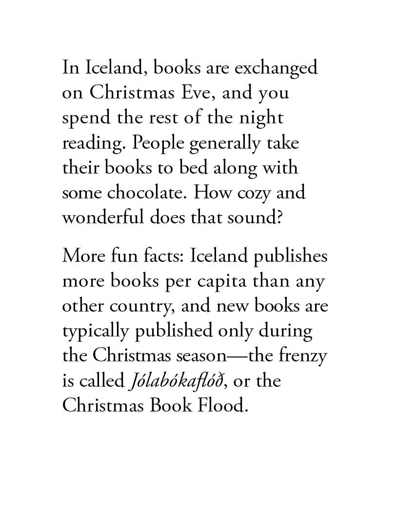 Iceland Christmas Eve Book Tradition Chocolate | Thecannonball.org
