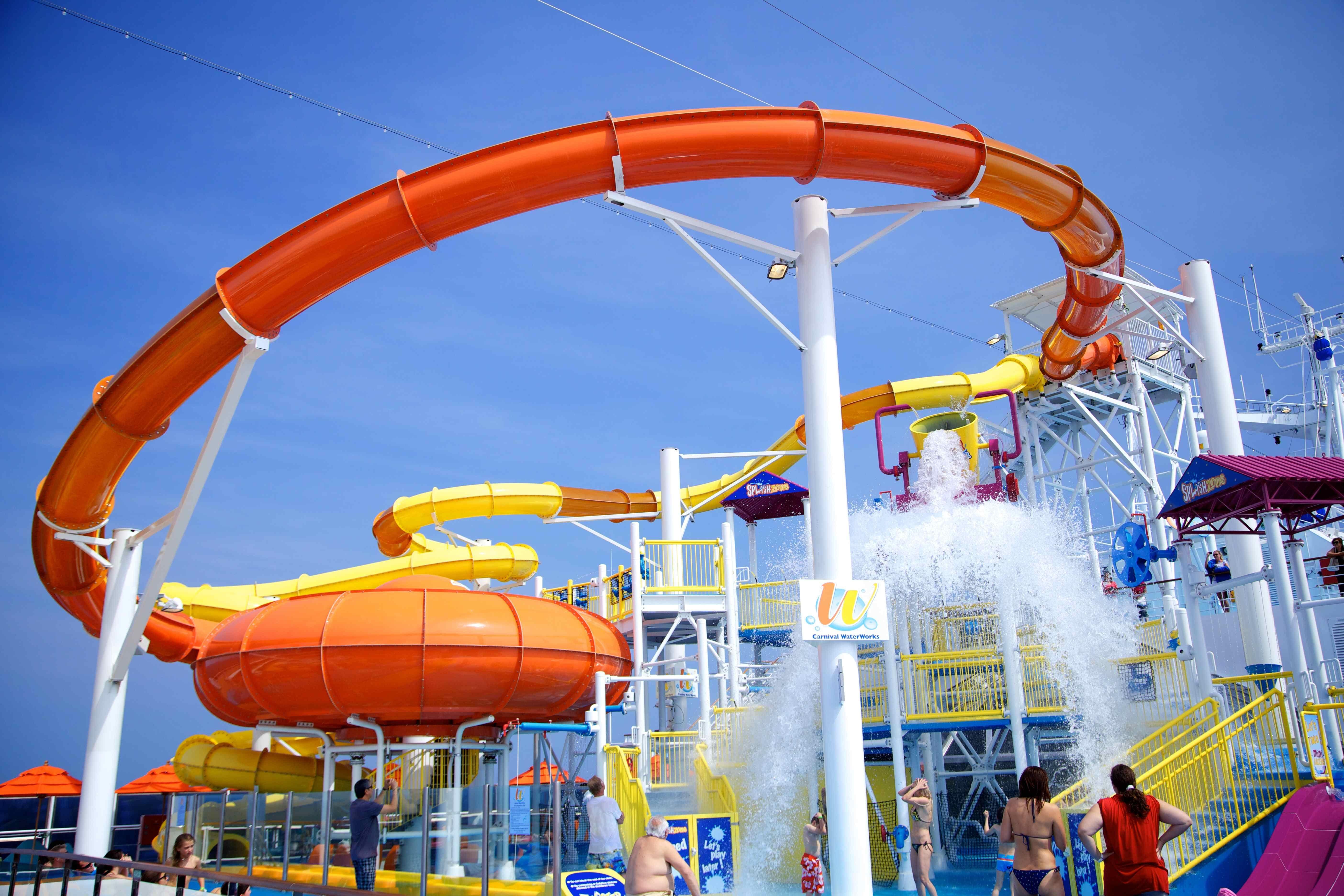 Carnival Waterworks Dream Cruise Carnival Cruise Carnival Breeze
