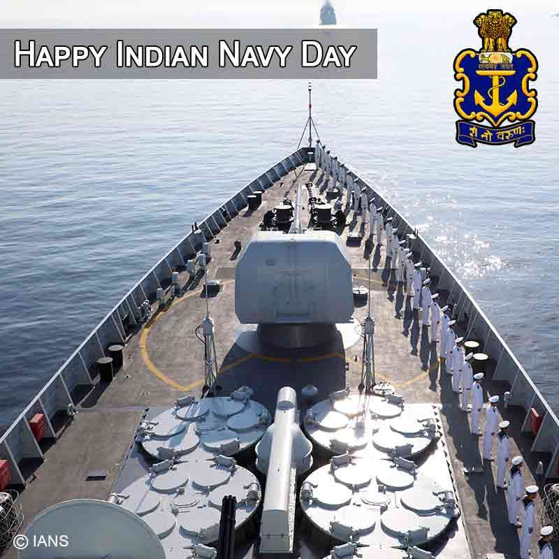 Happy Indian Navy Day Images 2019 Quotes Slogans Whatsapp Status Pic Indian Navy Day Navy Day Indian Navy