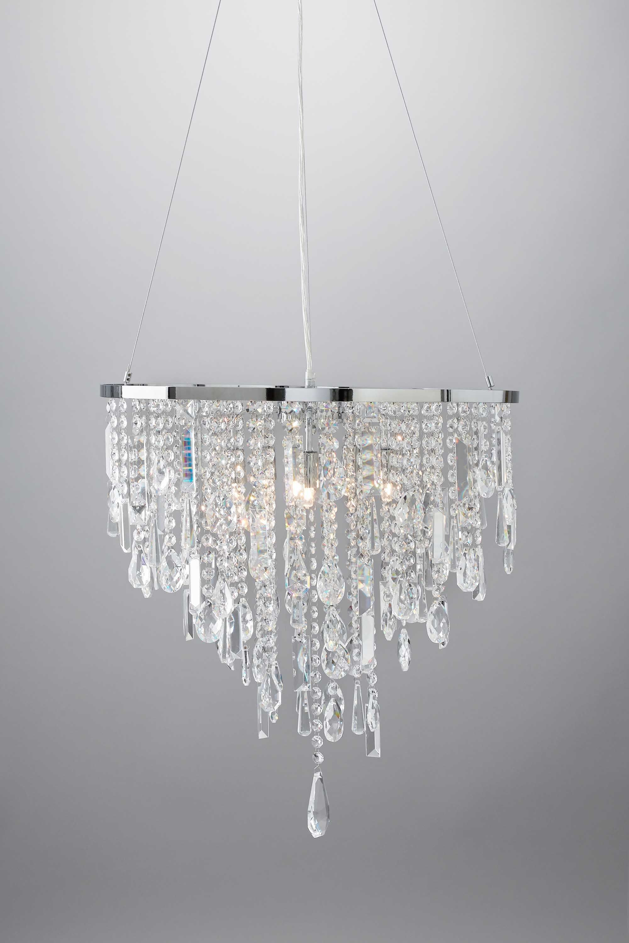 Gabriella Pendant Light, Clear   BHS luxury lighting for the home ...