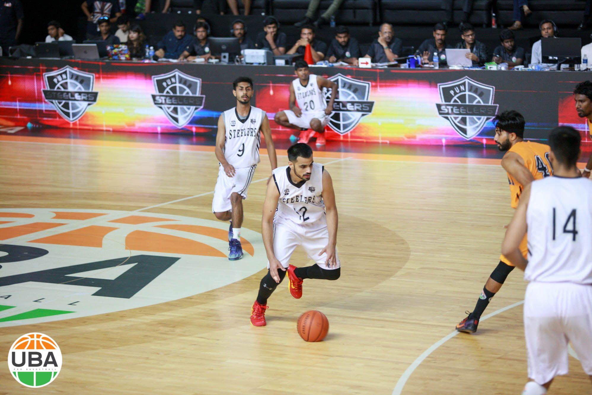 Taj Looks To Make Something Happen Vs Mumbai Challengers Ubaindia Ubaseason4 Basketball Teams Challenger Uba