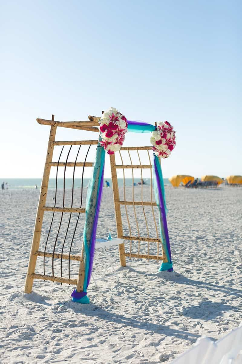 Beach wedding spots  Sunset Destination Wedding at Tradewinds Resort in St Petersburg