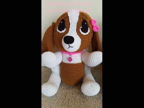 Crochet Hound Dog Part 2 of 2 DIY Tutorial - YouTube | crochet ...