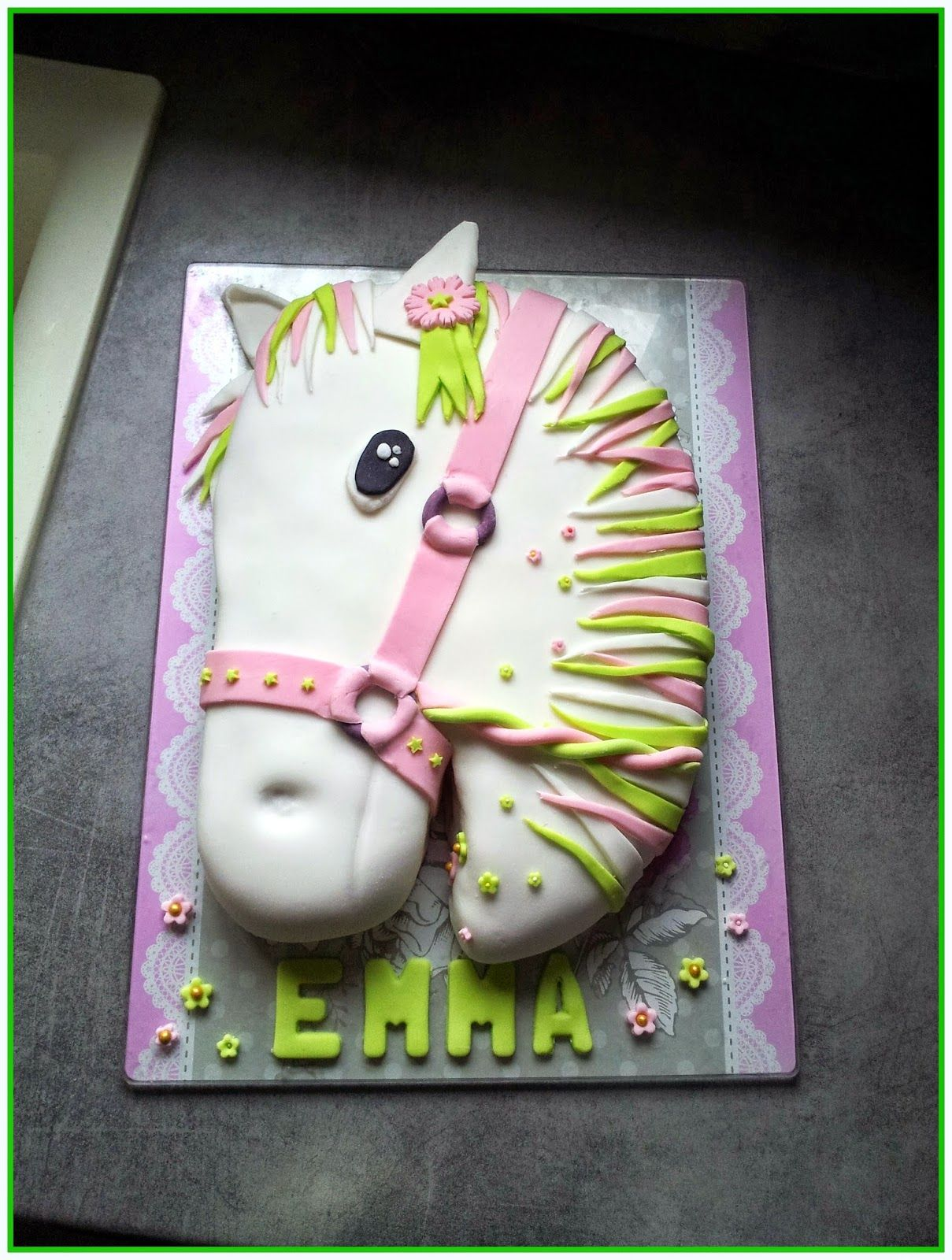 Idee gateau theme cheval