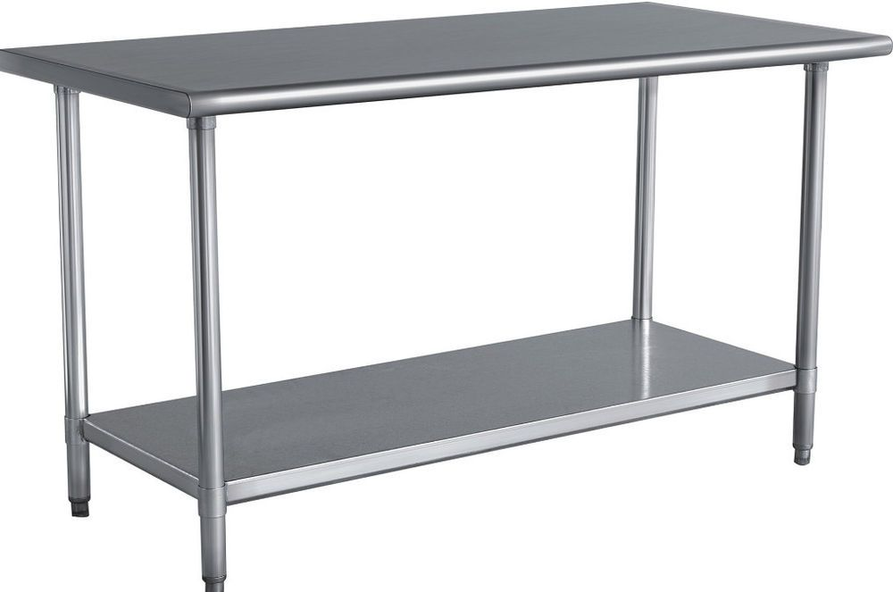 Buffalo Tools Stainless Steel Work Table Shelving Storage Home Furniture New